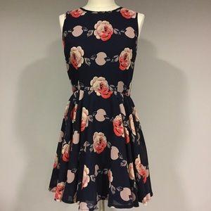 Maison Jules Floral Swing Dress